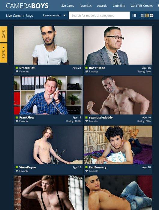 Camera Boys site review