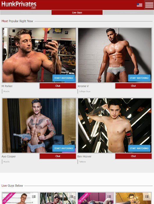Hunk Privates site review
