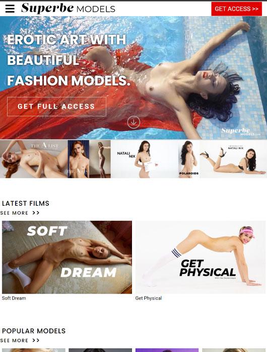 Superbe Models site review